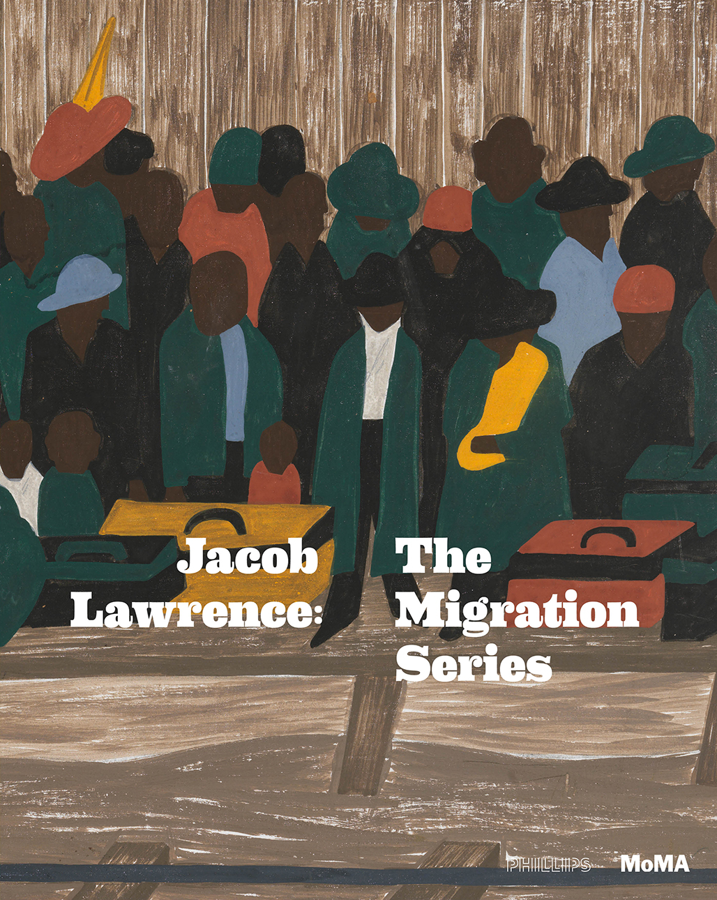 Jacob Lawrence: Migration Series  Exhibition Cover Designed by Poly-Mode, Silas Munro With Brian Johnson