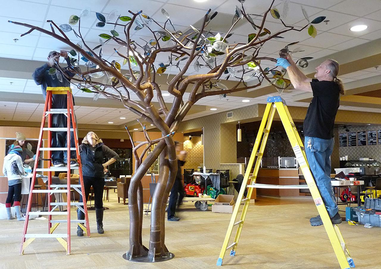 Julie Sittler Growth installation