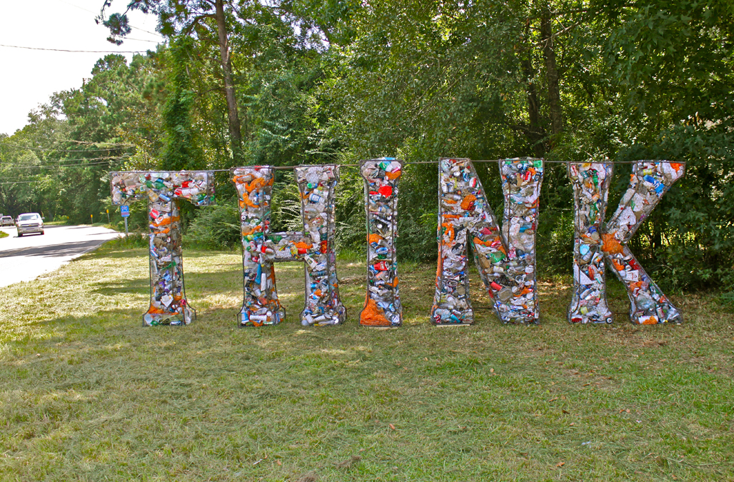 The Litter Letter Project installed in Louisiana