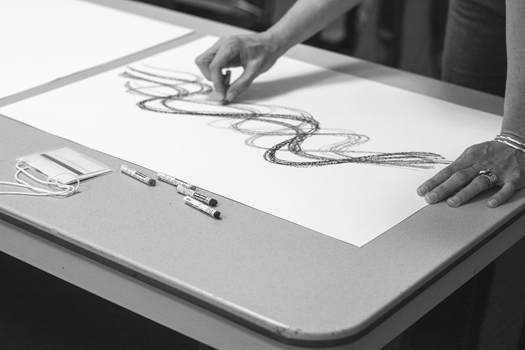 Draw Down workshop at VCFA
