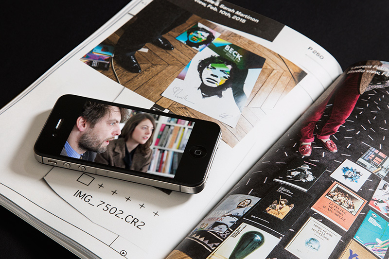 Augmented reality content in Slanted #25 - The Paris issue