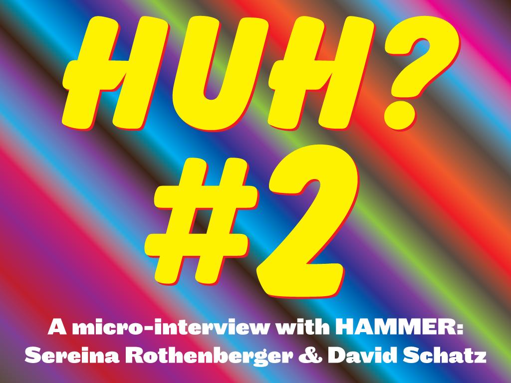 Huh 2: HAMMER!