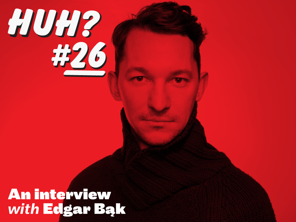 Huh VCFA interview with Edgar Bąk