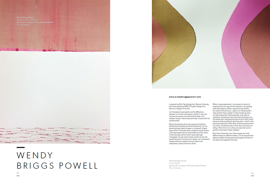 Wendy Powell in Fresh Paint Magazine