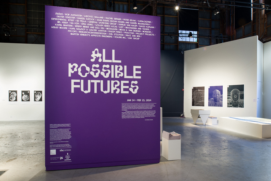 Jon Sueda's 2014 exhibition All Possible Futures in San Francisco