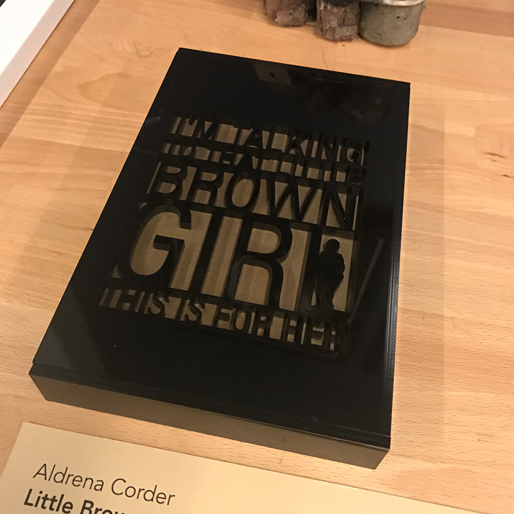 Aldrena Corder's thesis