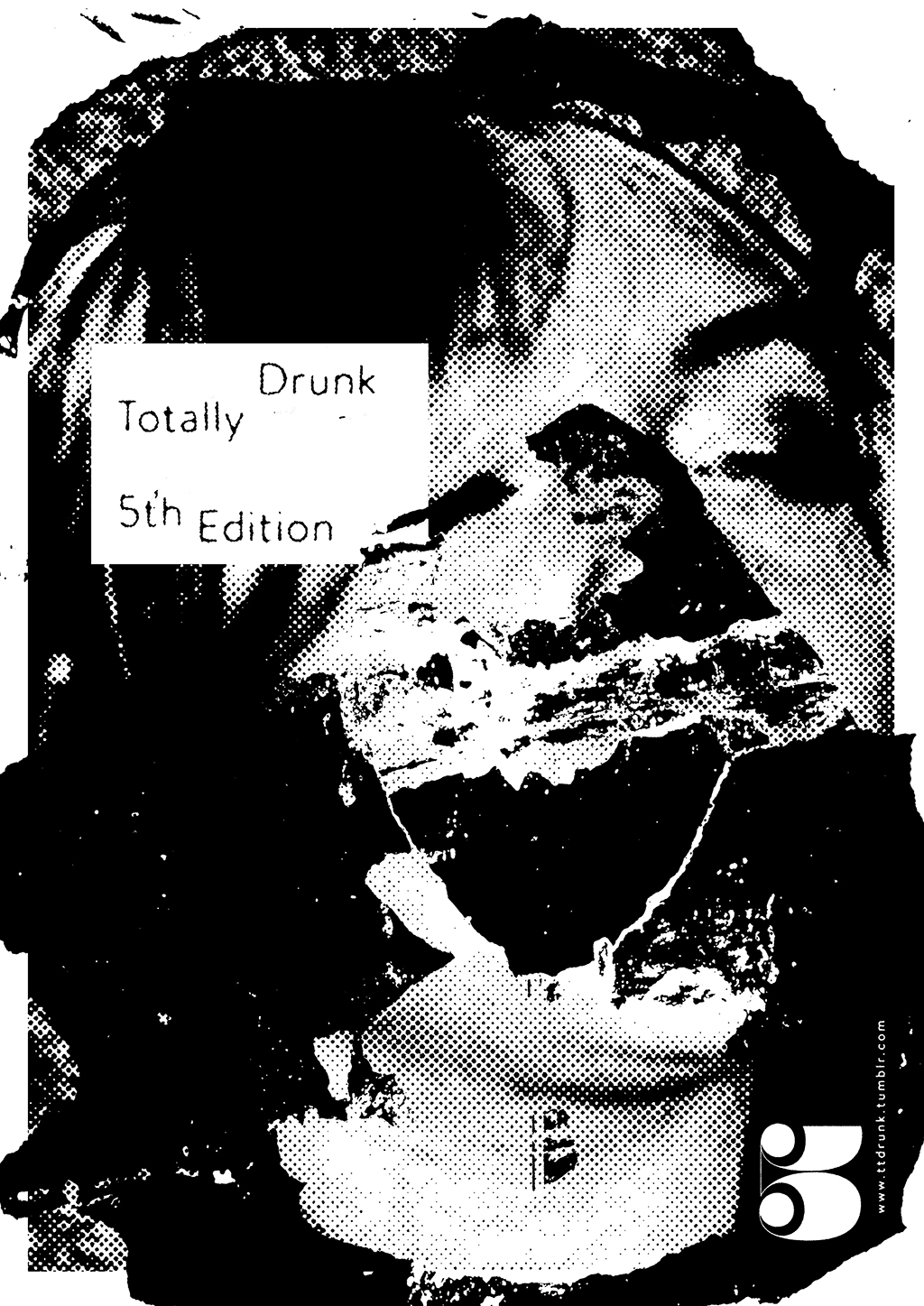 Totally Drunk 5th Edition This was originally going to be the second part of a diptych along side of the Jimmy Savile is a Creep poster. The thought behind it focuses on the victim Lindsay Lohan and the effects of being a child actor. Similar to The Savile piece, this shows a partial portrait along with literally blacked-out memories.