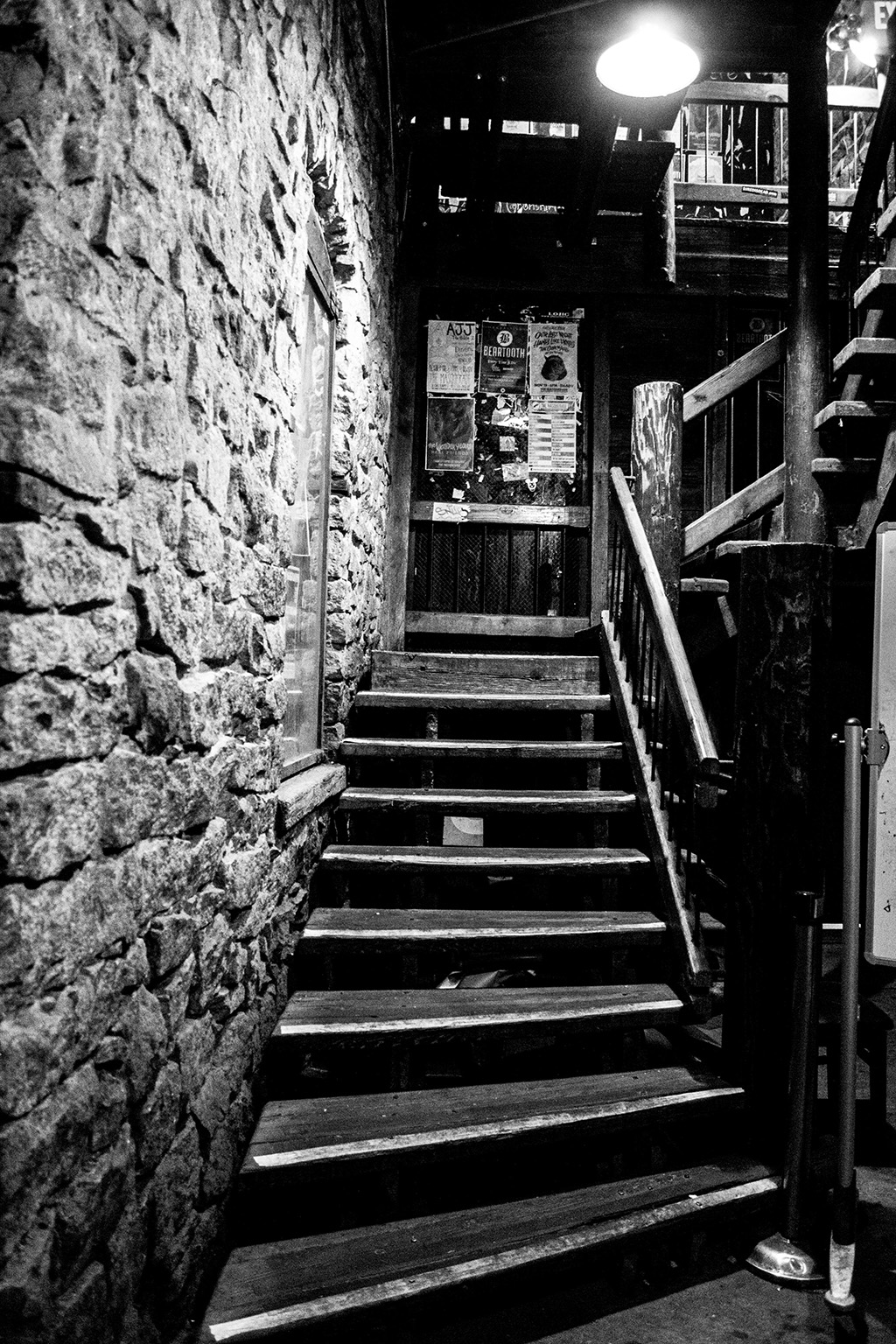 These photos were taken at The Masquerade, located in Atlanta, GA, on the final night it was open as a club venue. The historic location was once an excelsior mill before becoming The Masquerade in the 1980s. Created in my third semester at VCFA.
