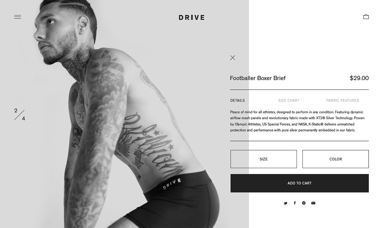 Drive website by Chad Miller