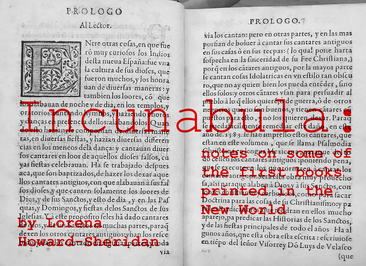 incunabula by Lorena Howard-Sheridan