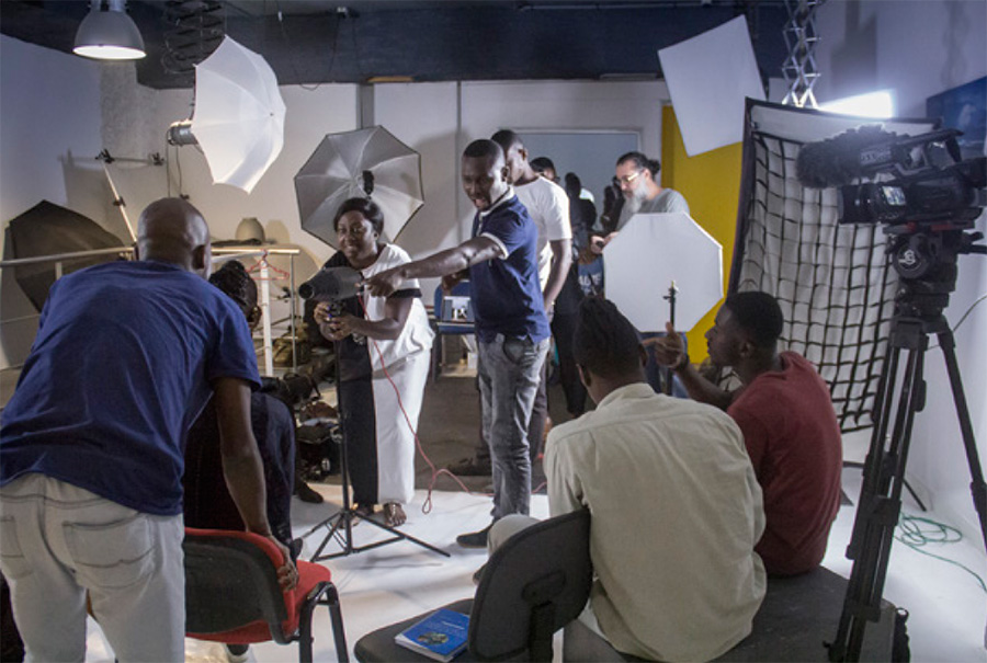 "The workshop includes both group exercises and individual ""on the job"" training. The latter allows mentors to focus on a photographer's specific skills and needs."